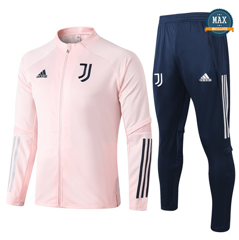 Max Veste Survetement Juventus 2020/21 Rose