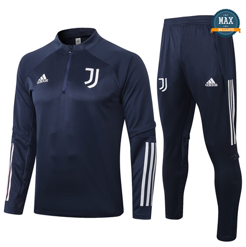 Max Survetement Juventus 2020/21 Bleu Marine