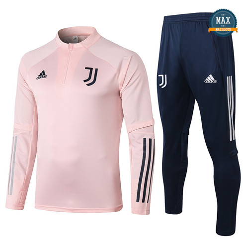 Max Survetement Juventus 2020/21 Rose
