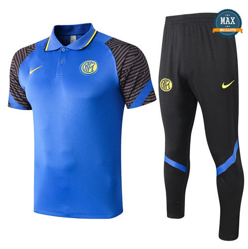 Inter MilanInter Milan POLO + Pantalon 2020/21 Training Bleu
