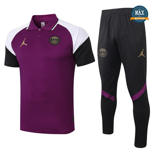 JordanJordan POLO + Pantalon 2020/21 Training Pourpre