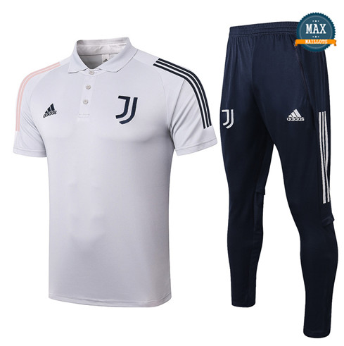 JuventusJuventus POLO + Pantalon 2020/21 Training Gris Clair
