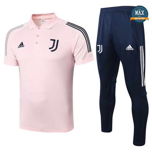 JuventusJuventus POLO + Pantalon 2020/21 Training Rose