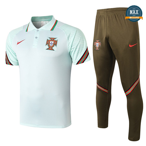 PortugalPortugal POLO + Pantalon 2020/21 Training Vert