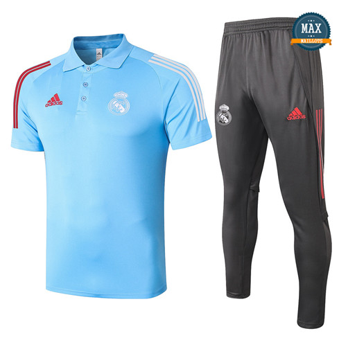 Real MadridReal Madrid POLO + Pantalon 2020/21 Training Bleu