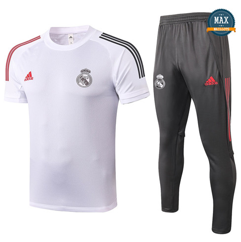Real MadridReal Madrid + Pantalon 2020/21 Training Blanc