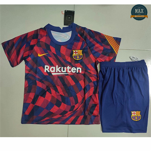 Max Maillot Barcelone Enfant training rouge 2020/21