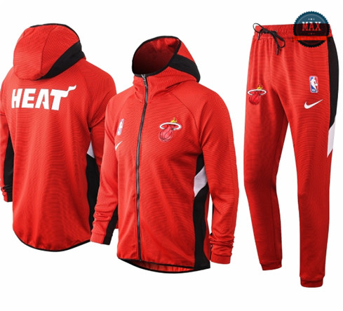 Max Maillots Chándal Miami Heat - Rouge