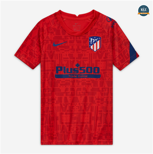 Max Maillot Atletico Madrid Pre Match Rouge 2020/21