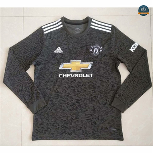 Max Maillots Manchester United Exterieur Manche Longue 2020/21