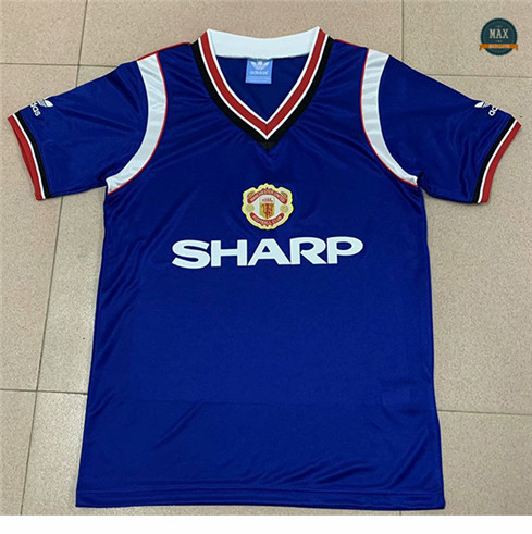 Max Maillot Retro 1984 Manchester United Third