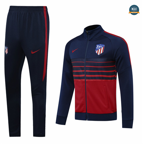 Max Veste Survetement Atletico Madrid 2020/21 Bleu Marine/Rouge