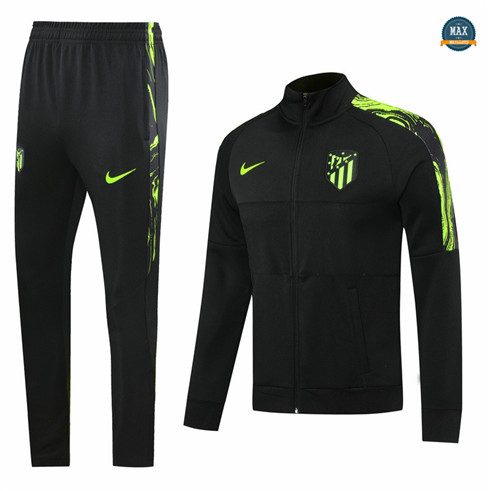 Max Veste Survetement Atletico Madrid 2020/21 Noir