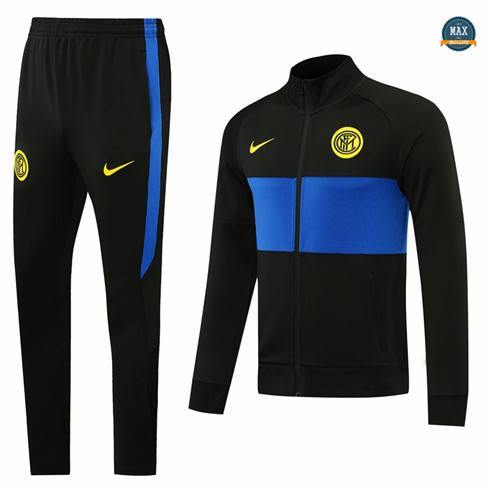 Max Veste Survetement Inter Milan 2020/21 Noir