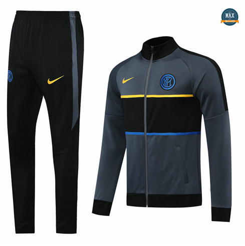 Max Veste Survetement Inter Milan 2020/21 Gris