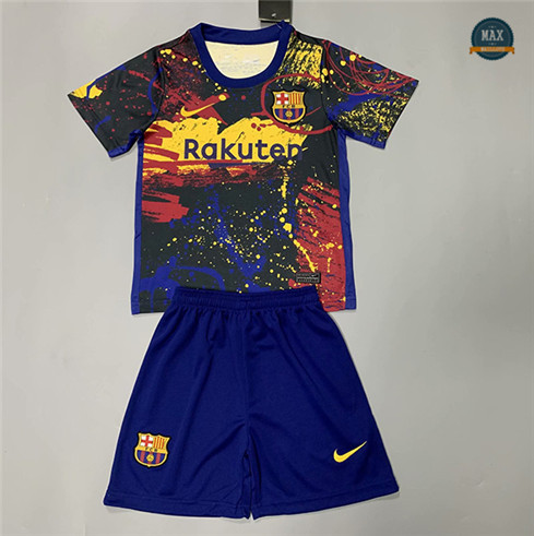 Max Maillots Barcelone Enfant Pre-Match 2020/21