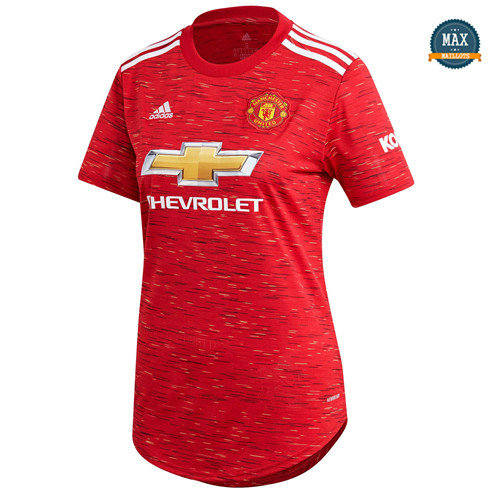 Max Maillots Manchester United Femme Domicile 2020/21
