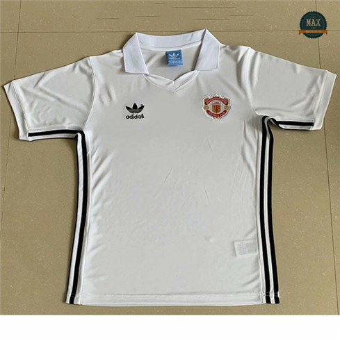 Max Maillots Retro 1980 Manchester United Exterieur