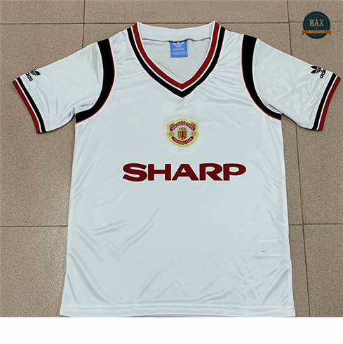 Max Maillots Retro 1984 Manchester United Exterieur