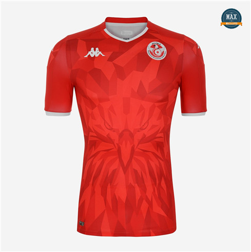 Max Maillots Tunisie Exterieur Rouge 2020/21