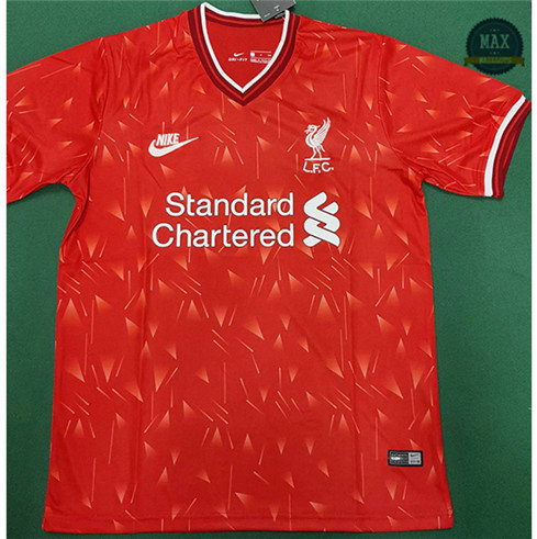 Max Maillot Liverpool training 2020/21