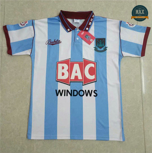 Max Maillots Retro West Ham United 1991-92 Exterieur