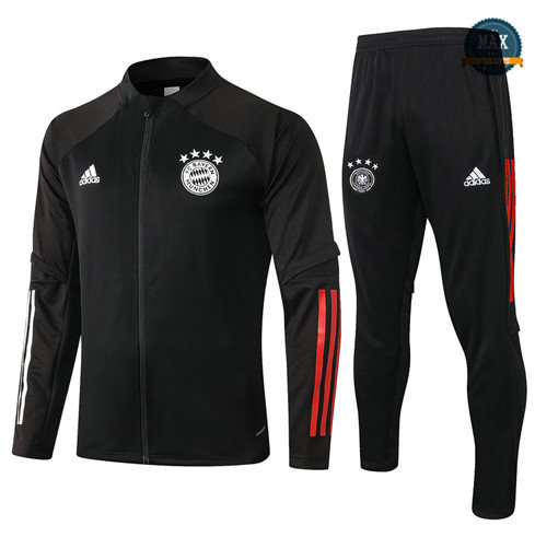 Max Veste Survetement Bayern Munich 2020/21 Noir