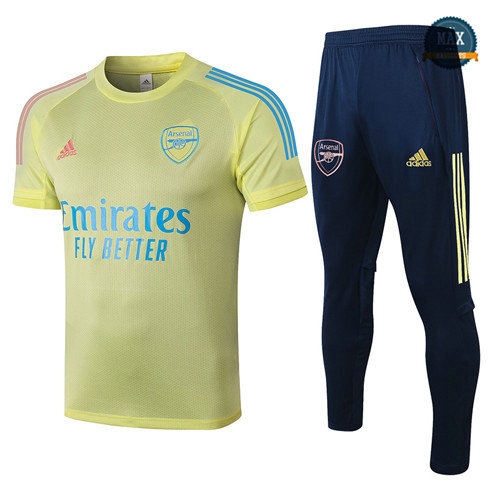 Max Maillots Arsenal + Pantalon 2020/21 Training Jaune