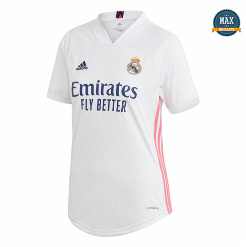 Max Maillot Real Madrid Femme Domicile 2020/21