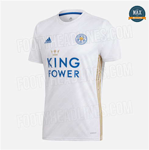 Max Maillots Leicester City Exterieur 2020/21