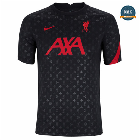 Max Maillot Liverpool pre-match training 2020/21 Noir