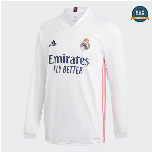 Max Maillots Real Madrid Domicile Manche Longue 2020/21