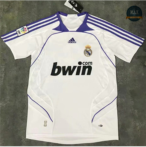 Max Maillots Classic Real Madrid 2007-08 Domicile