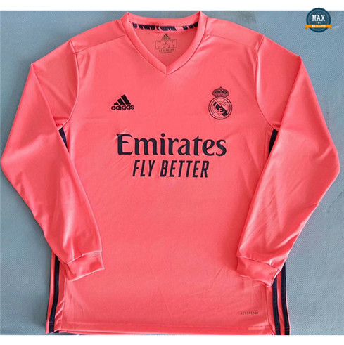 Max Maillot Real Madrid Exterieur Manche Longue 2020/21
