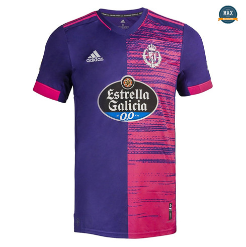 Max Maillot Real Valladolid Exterieur 2020/21
