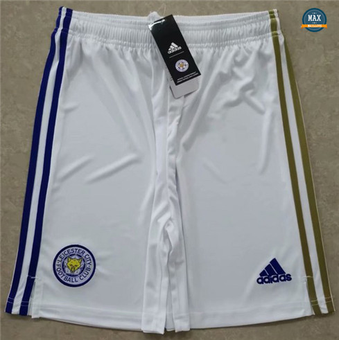Max Maillots Leicester City Short 2020/21 Exterieur