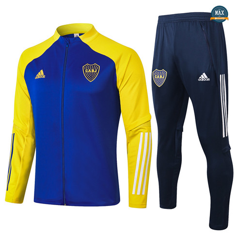 Max Veste Survetement Boca Juniors 2020/21 Bleu/Jaune