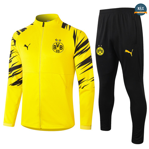 Max Veste Survetement Borussia Dortmund 2020/21 Jaune