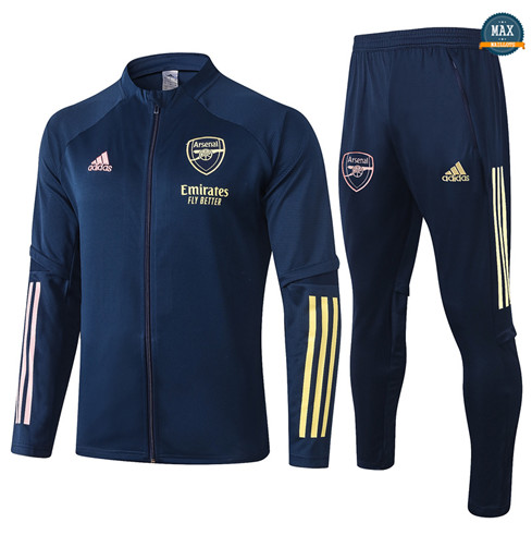 Max Veste Survetement Enfant Arsenal 2020/21 Bleu Marine