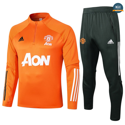 Max Survetement Manchester United 2020/21 Orange