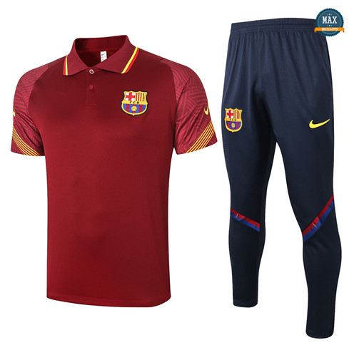 Max Maillot Barcelone Polo + Pantalon 2020/21 Training Bordeaux