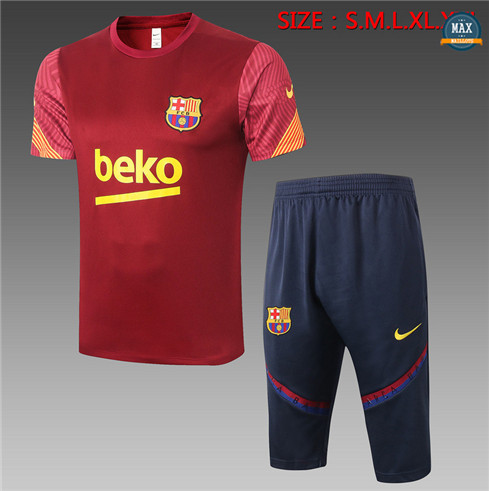 Max Maillot Barcelone + Pantalon 3/4 Training 2020/21 Bordeaux