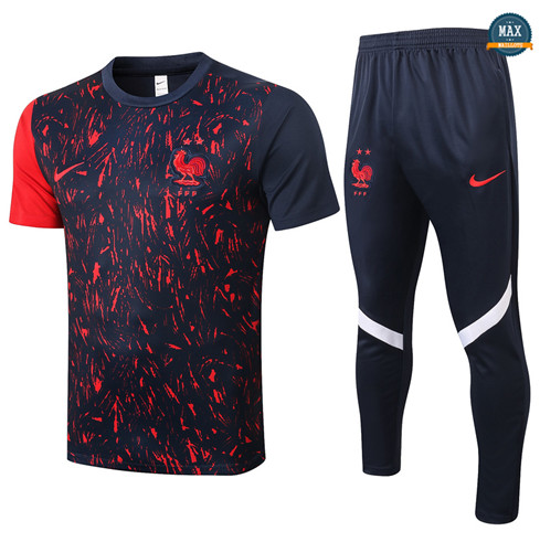 Max Maillot France + Pantalon 2020/21 Training Noir