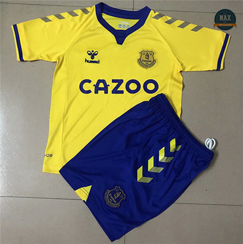 Max Maillots Everton Exterieur 2020 Enfant & Junior fiable