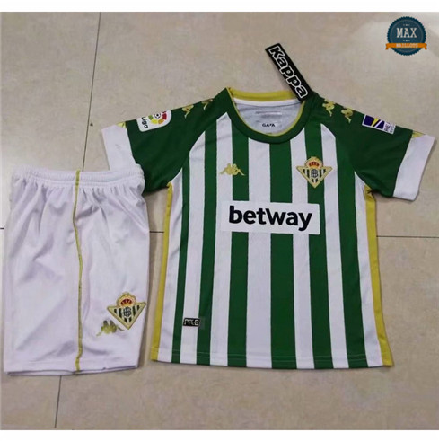 Max Maillots Real Betis Domicile 2020 Enfant & Junior fiable
