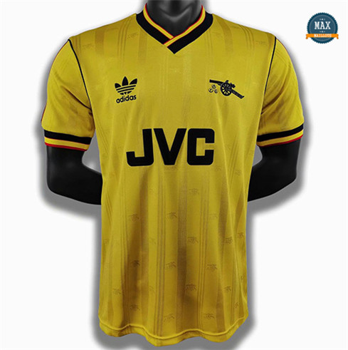 Max Maillot Rétro 1986-88 Arsenal Jaune fiable