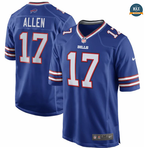 Max Maillot Josh Allen, Buffalo Bills - Royal