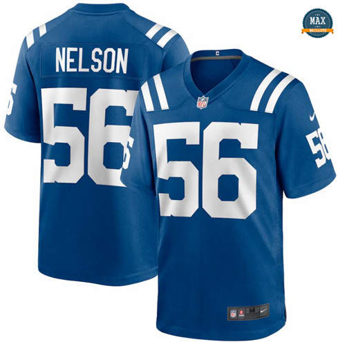 Max Maillot Quenton Nelson, Indianapolis Colts - Royal