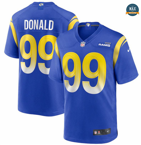 Max Maillot Aaron Donald, Los Angeles Rams - Royal