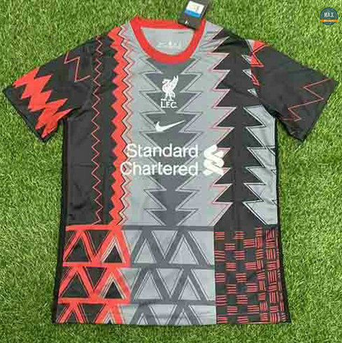 Max Maillots Liverpool Pre-Match training 2021/22